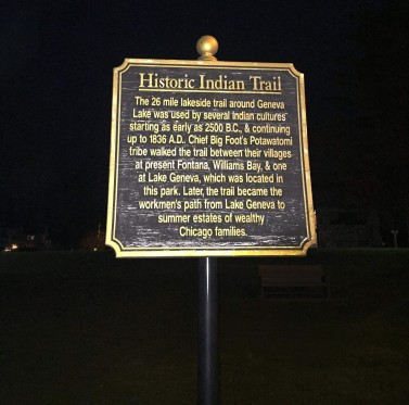 Historic Indian Trail